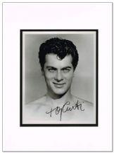 Tony Curtis Autograph Signed Photo